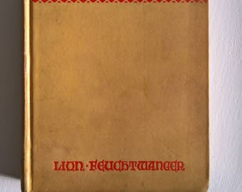 The Ugly Duchess by Lion Feuchtwanger --- Vintage Historical Fiction Novel --- Middle Ages Medieval Royalty Politics Woman Ruler Book Decor