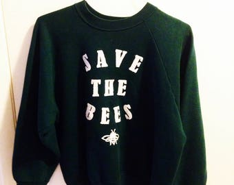Save The Bees crew neck sweater
