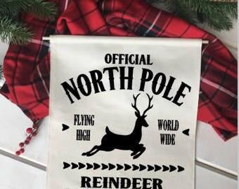 Reindeer Flight Instructor/ Christmas wall decor/ north pole/ christmas decoration/ wall hanging/ farmhouse christmas/ christmas sign