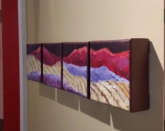 Vineyard View Acrylic Painting Set