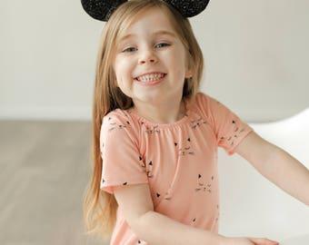 Minnie Mouse Ears || Mouse Ears || Disneyland Headband || Mickey Birthday ||  Minnie Birthday