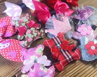 AberryHandmade One-of-a-Kind Baby hairclips [Set of 12] SALE