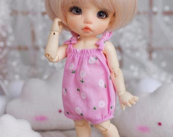 "Lati Yellow/Pukifee - ""Cloudy Milk"" Romper/Jumpsuit - PinkFloral"
