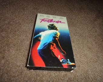 Footloose collectible vhs tape vintage vcr -vcr-vhs-tape-vhs tape- vcr tape- vcr machine- tape player-