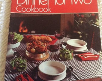Betty Crocker's Dinner for Two Cookbook - 4th Printing 1974