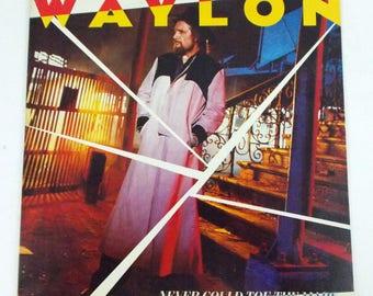 Waylon Jennings Never Could Toe the Mark Vinyl LP Record Album RCA AHL1-5017