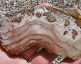 Mexican Crazy Lace Agate Slab (90X40X7)