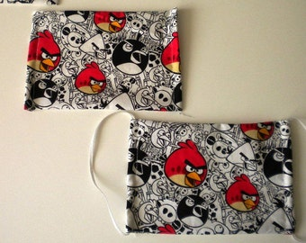Face Mask Angry Bird