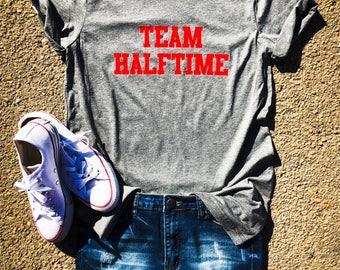 Team Halftime Tshirt, Halftime Shirt, Gameday Shirt, Football Shirt, Game Day Tee, Football Saturday, Football, Volleyball