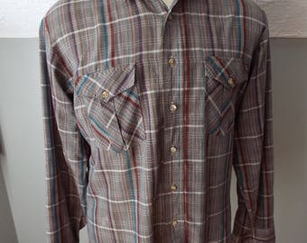 Vintage Long Sleeve Button Down Shirt by Wrangler