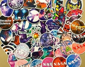 Space Sticker-Bombing Sticker Pack