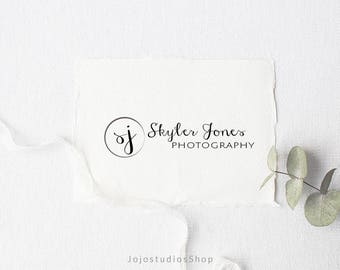 Handwritten Logo, Premade Logo, Logo Design, Boutique Logo, Initial Logo, Logo with Initials, Business Logo, Logo with Monogram, L025