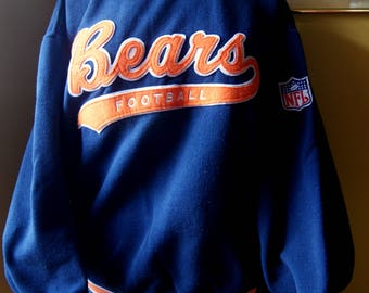 Vintage Chicago Bears, Starter Authentic Pro Line Sweatshirt, Pullover, Size Adult Large, Official NFL, Go Bears, Football Fan Gear