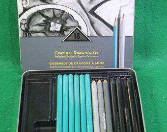 Prismacolor Graphite Drawing Set