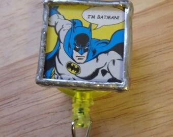 Batman name badge