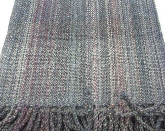 Handwoven blanket.