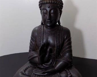 NEW Rare Resin PVC  Buddha Sculptures Figurines Asian Zen Thai Oriental Spiritual Religious Hindu
