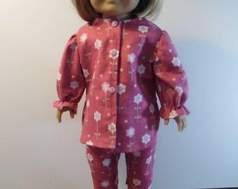 American Girl Doll Pajamas
