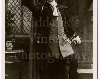 """Hayden Coffin as """"Tom Jones"""" Edwardian Film Stage Actor RPPC Postcard - Rotary Series - Unposted Photograph"""