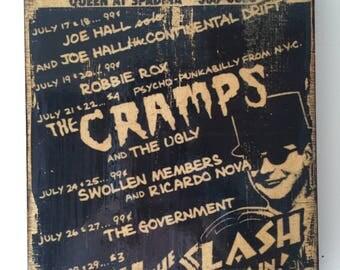 The Cramps Handbill Reproduction