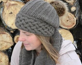 KNITTING PATTERNS hat // knitting patterns for women // knit pattern hat // hat knitting pattern // knitting hat pattern children