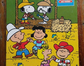 """Snoopy and Friends """"Saturday Dance"""" jigsaw puzzle"""