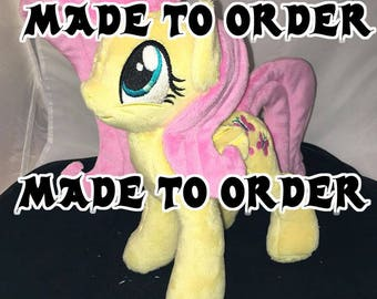 Made to Order - 10 inch Fluttershy plush