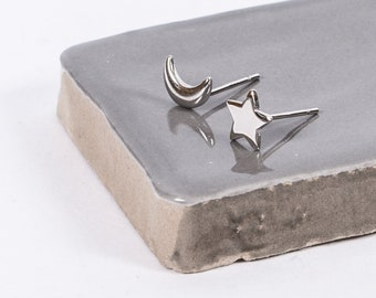 Sterling Silver Nights Tale Studs