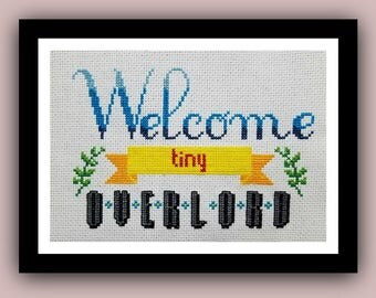 Welcome Tiny Overlord Pattern