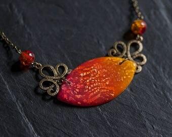 Sunrise Coktail Necklace