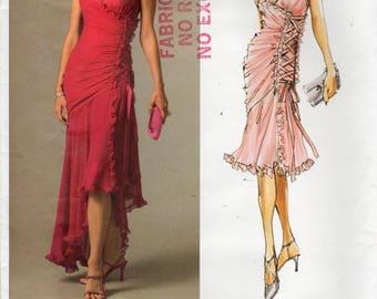 Vogue V2880, Bellville Sassoon, Vogue Designer Original, Misses' Dress Pattern, Size AX, 4, 6, 8