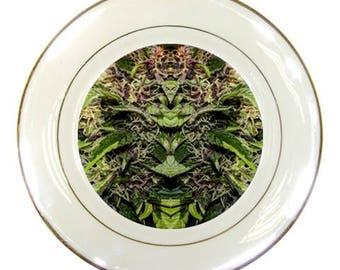 Printed Porcelain Dinner Plates Purple Goo Printed Ceramic Plate, Modern Decorative Plates, Porcelain Dinner Plates,Porcelain Wedding Plates