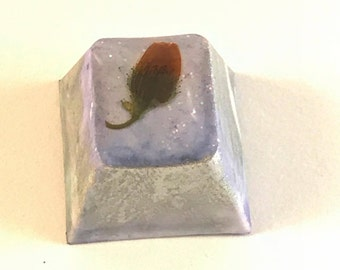 Purple keycap