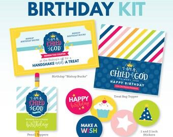 2018 LDS Primary Theme Birthday Kit - I am a Child of God