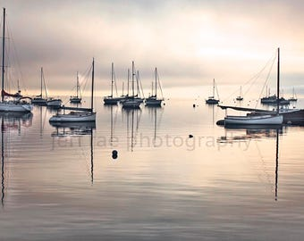 Belfast Harbor Printed On Aluminum, Canvas, Wood, Paper, Photography, Images
