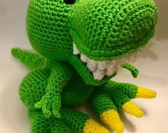 Toothy T-Rex Dinosaur Crochet Pattern