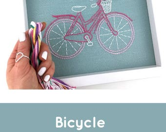 Bicycle Embroidery Kit {basic}