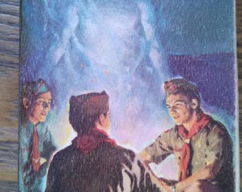 boy scouts handbook for boys paperback 1950s be prepared
