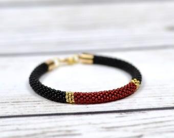 gothic jewelry halloween bracelet minimalist bracelet stacking bracelet friendship bracelet yoga bracelet gift-for-wife gift-for-girlfriend