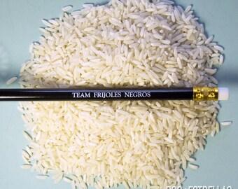 Team FRIJOLES NEGROS pencils