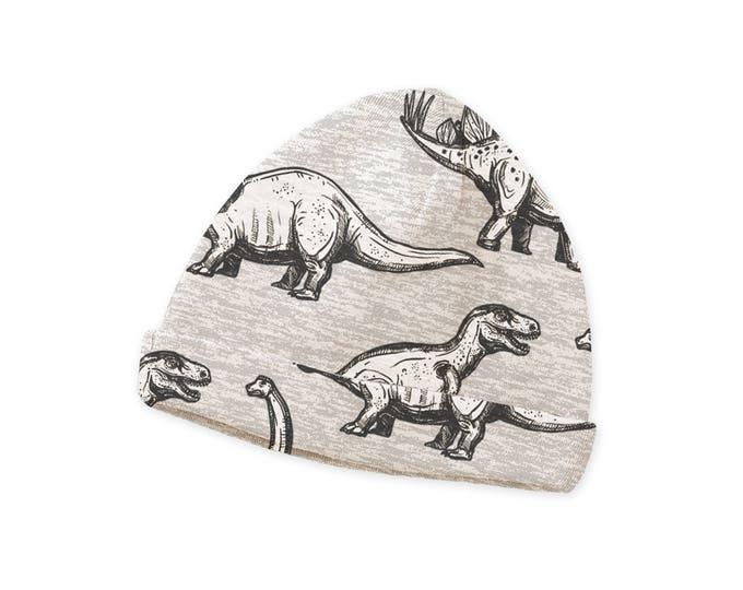 Newborn Baby Boy Hat, Newborn Baby Dinosaur Hat, Baby Hat Girls, Baby Boy Beanies, Baby Girl Beanies Gray Dinosaurs, Tesa Babe CP630DN000000