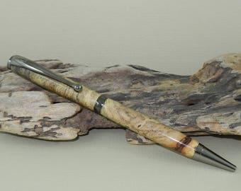 Buckeye Burl Wood Twist Pen