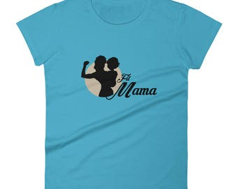 Women's short sleeve t-shirt Fitmama