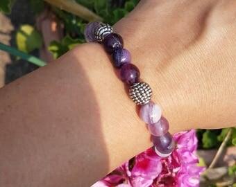 Fluorite Stretchy Bracelet