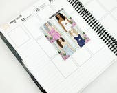 Posey // Fashion Girls (4 Planner Stickers)
