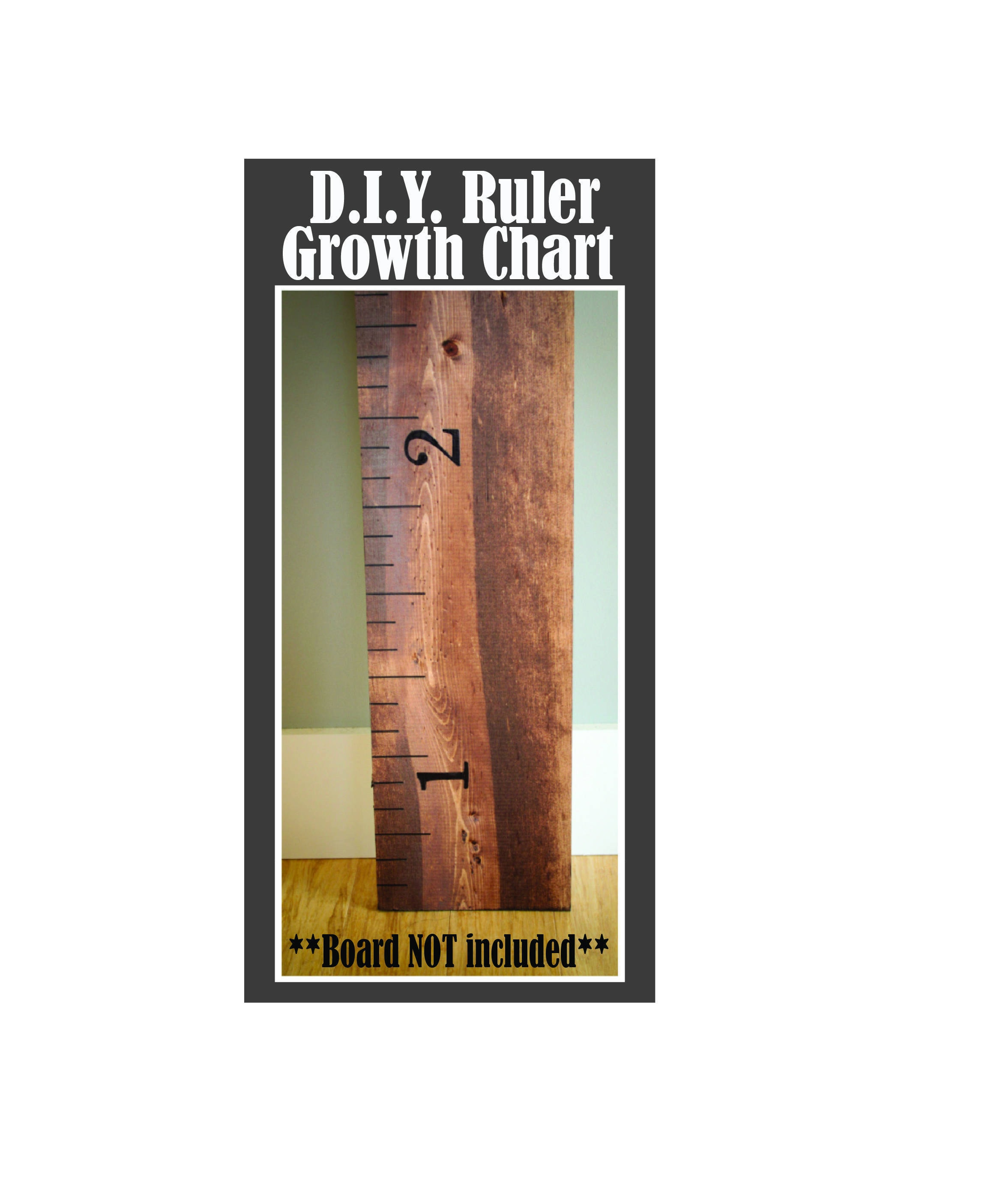 Diy growth chart ruler board not included ruler growth chart diy growth chart ruler board not included ruler growth chart kit childrens growth chart growth chart vinyl vinyl decal ruler decal nvjuhfo Gallery