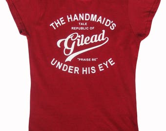 Women's / Ladies Tee, The Handmaid's Tale Fan Inspired Fitted T Shirt