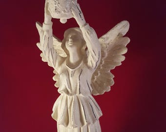 Tall Angel Candle Holder