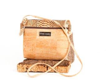 Cork Crossbody bag, Cork Bag, Women cork bag