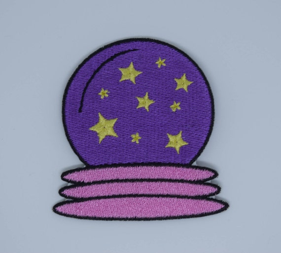 Crystal Ball Iron on Patch